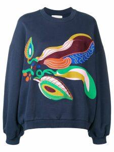 Henrik Vibskov Blossom Feast sweatshirt - Blue