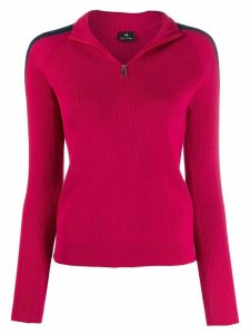 PS Paul Smith ribbed knit sweater - PINK