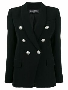 Balmain fitted buttoned jacket - Black