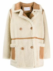 Stand Studio double buttoned jacket - White