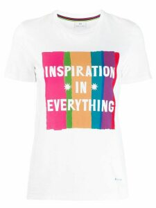 PS Paul Smith printed cotton T-shirt - White