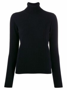 Lamberto Losani cashmere roll-neck jumper - Black