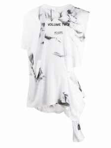 Art School Volume Two print tank top - White