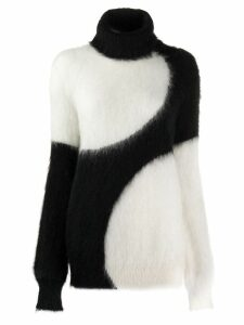 Gianluca Capannolo two-tone relaxed-fit jumper - White