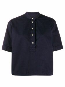 YMC short-sleeve pullover shirt - Blue