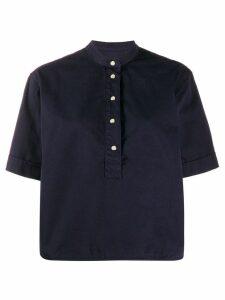 YMC short-sleeve pullover shirt - Blue