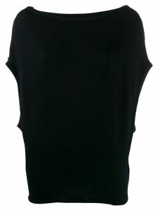 Société Anonyme boat-neck knit jumper - Blue