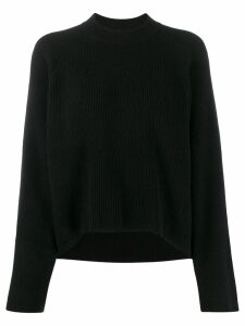 Petar Petrov crew-neck knit sweater - Black
