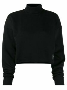 Calvin Klein Jeans slash hem sweatshirt - Black