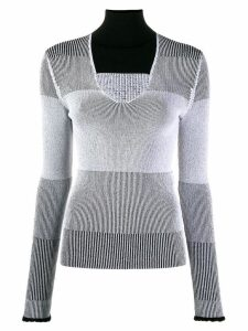 Ssheena cut-out jumper - Black