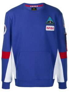 Alpha Industries Space Camp sweatshirt - Blue
