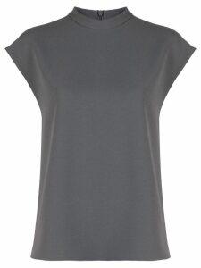 Tibi casual crewneck T-shirt - Grey