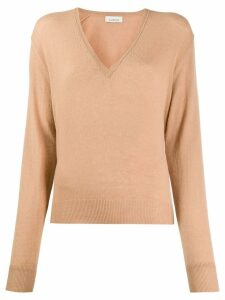 Laneus V-neck jumper - NEUTRALS