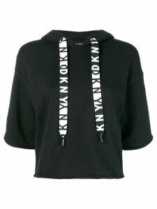 DKNY short-sleeve hoodie - Black