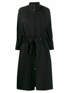 Plan C drawstring waist coat - Black