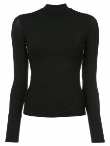 The Row turtle neck top - Black