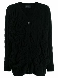 Simone Rocha V-neck cardigan - Black