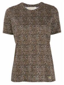 Michael Michael Kors leopard print T-shirt - NEUTRALS