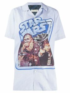 Etro printed Star Wars shirt - Blue