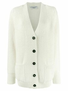 Katharine Hamnett London Bennie button up cardigan - White
