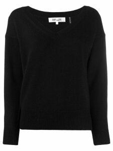 Diane von Furstenberg V-neck sweater - Black