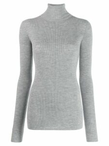 Tibi rollneck fitted sweater - Grey