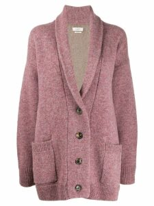 Isabel Marant Étoile long knitted cardigan - PINK