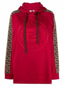 Fendi Fendi Roma Amor hoodie - Red