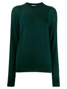 Nina Ricci crew neck knitted top - Green
