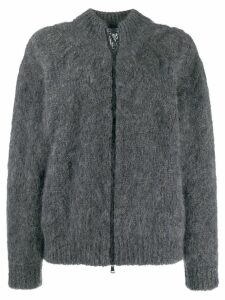 Brunello Cucinelli zipped-up cardigan - Grey