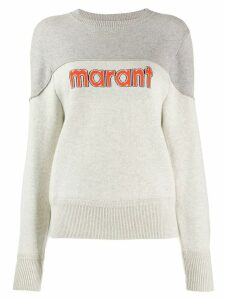 Isabel Marant Étoile two tone pullover - Grey