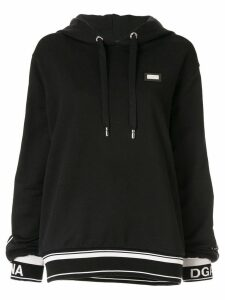 Dolce & Gabbana DG Love print hoodie - Black