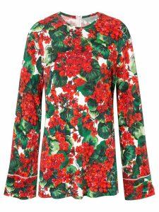 Dolce & Gabbana Portofino print blouse - Green