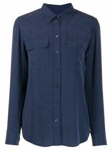 Equipment flap pockets shirt - Blue