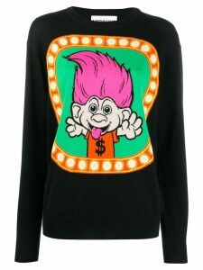 Moschino Trolls knitted sweater - Black