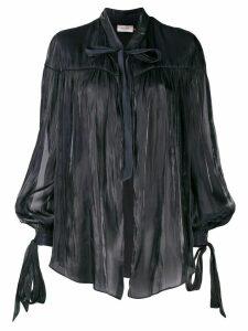Murmur cape-style top - Black