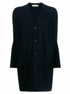 Gentry Portofino loose-fit cashmere cardigan - Blue