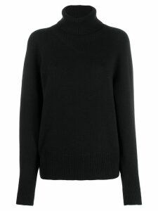 Joseph roll-neck knit jumper - Black