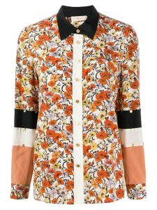 Tory Burch floral print shirt - NEUTRALS