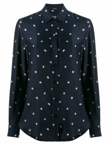 Joseph New Garçon Scribble Spot shirt - Blue
