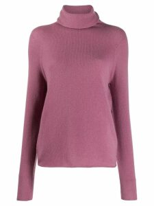 Vince roll neck jumper - PINK