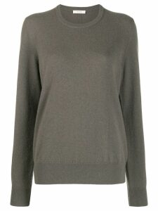 The Row relaxed knit jumper - Brown