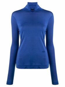 Joseph jersey roll neck top - Blue