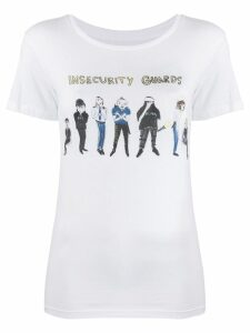 Unfortunate Portrait Insecurity Guards T-shirt - White