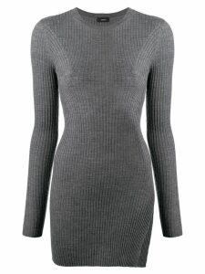 Joseph rib knit tunic - Grey