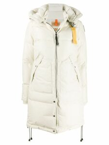 Parajumpers zipped padded parka coat - Neutrals