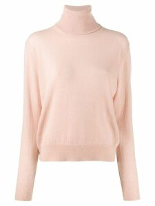Laneus turtle neck sweater - PINK