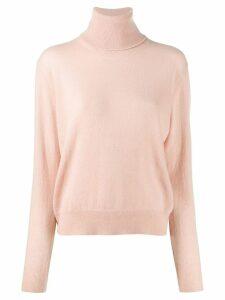 Laneus turtle neck sweater - PINK
