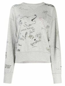 Isabel Marant Étoile Tigrane sweatshirt - Grey