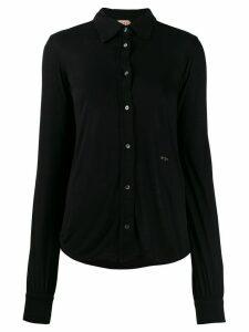 Nº21 logo detail shirt - Black